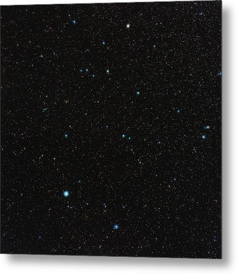 Aquarius Constellation Metal Print by Eckhard Slawik