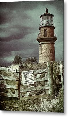 Metal Print featuring the photograph Aquinah Light II Marthas Vineyard by Jack Torcello