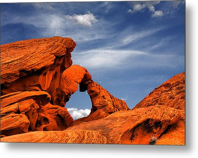 Arch Rock - Amazing Show Of Nature Metal Print by Christine Till