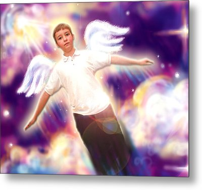Archer. Angelic 5 Metal Print by Nada Meeks
