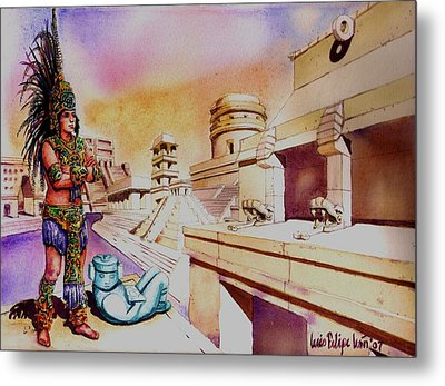 Architect's Dream Metal Print by Luis  Leon
