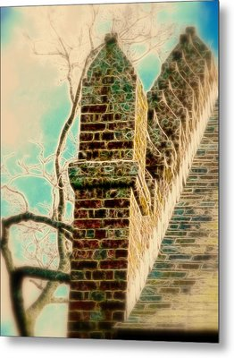 Architectural Art Metal Print by Cindy Wright