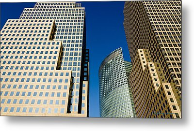 Architecture Metal Print by Johnny Sandaire