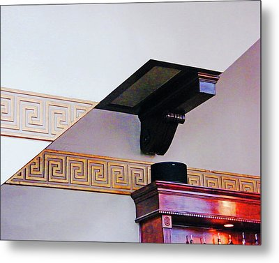 Metal Print featuring the photograph Architecture  by Lizi Beard-Ward