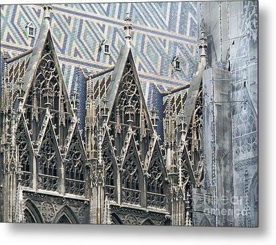 Architecture Of Vienna Metal Print by Evgeny Pisarev