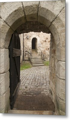 Archway - Entrance To Historic Town Metal Print by Matthias Hauser