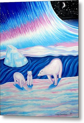 Arctic Nights Metal Print by Tracy Dennison