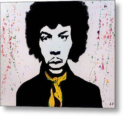 Are You Experienced Metal Print by Austin James