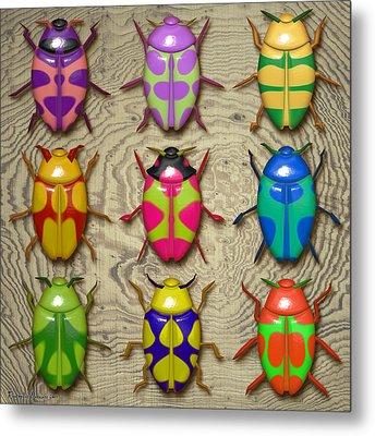Aristotle Coleoptera IIi. Metal Print by Tautvydas Davainis