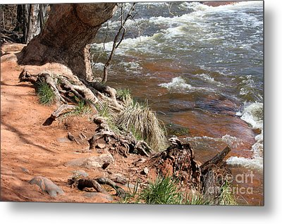 Metal Print featuring the photograph Arizona Red Water by Debbie Hart