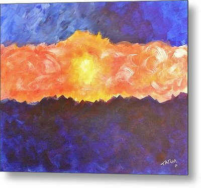Arizona Sunset Metal Print by Tatum Chestnut