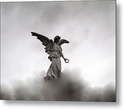 Armless Angel Metal Print