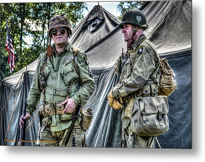 Army Life Metal Print by Dan Crosby