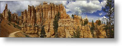 Metal Print featuring the photograph Around The Bend At Bryce Canyon by Gregory Scott
