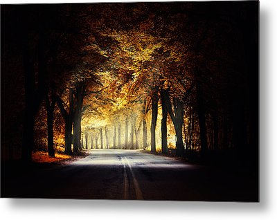 Around The Bend... Metal Print by Marek Czaja