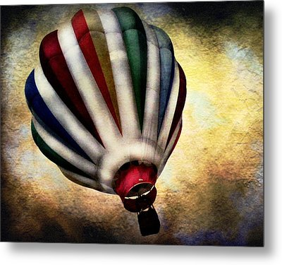 Around The World Metal Print by Colleen Kammerer