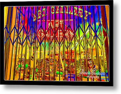 Art Gallery Metal Print