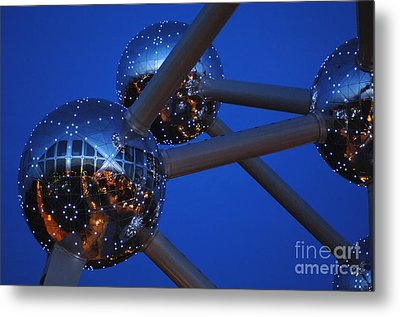 Art In Architecture 3 Metal Print by Bob Christopher