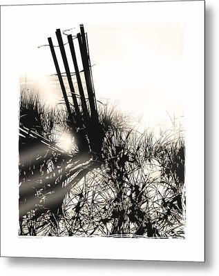 Art In The Sand Series 1 Metal Print