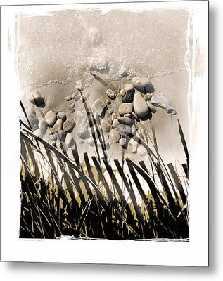 Art In The Sand Series 2 Metal Print