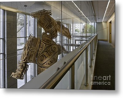 Art Installation Metal Print by Robert Pisano