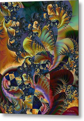 Metal Print featuring the digital art Art Of Confusion by Kim Redd