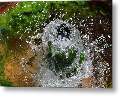 Artesian Well Metal Print