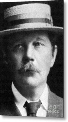 Arthur Conan Doyle, Scottish Author Metal Print by Science Source