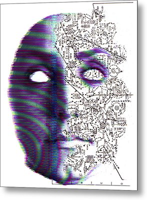 Artificial Intelligence Metal Print by Neal Grundy