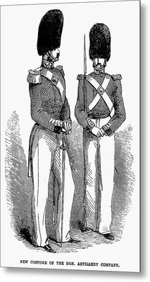 Artillery Company, 1855 Metal Print by Granger