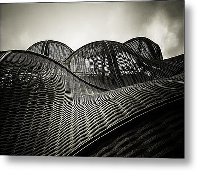 Artistic Curves Metal Print by Lenny Carter