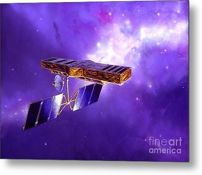 Artists Concept Of Space Interferometry Metal Print by Stocktrek Images