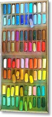 Artists Rainbow Metal Print