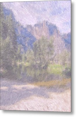 As If Monet Painted Yosemite Metal Print by Heidi Smith