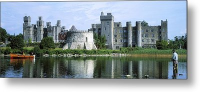 Ashford Castle, Lough Corrib, Co Mayo Metal Print by The Irish Image Collection