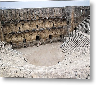 Aspendos Roman Theatre Metal Print by