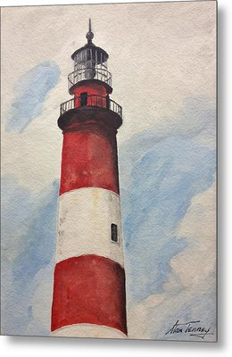 Assateague Lighthouse  Metal Print