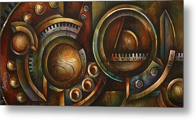 'assembly Required' Metal Print by Michael Lang