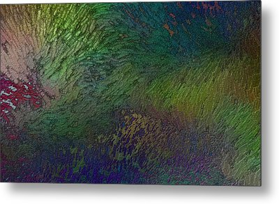 Metal Print featuring the digital art Assiduato by Jeff Iverson