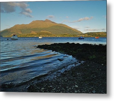 At Airds Bay Metal Print