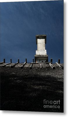 At Chimney Height Metal Print by Agnieszka Kubica