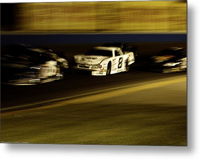 At Speed Metal Print by Michael Nowotny