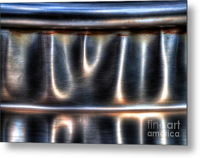 At The Bend Metal Print by Michael Garyet