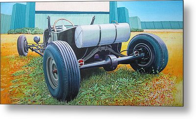 At The Drive In Metal Print by Jeff Taylor