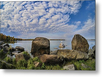 At The Lake Metal Print by Vladimir Kholostykh