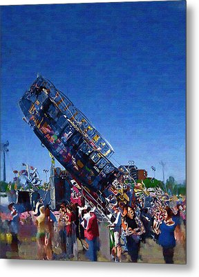 Metal Print featuring the photograph At The Summer Fair by Mario Carini
