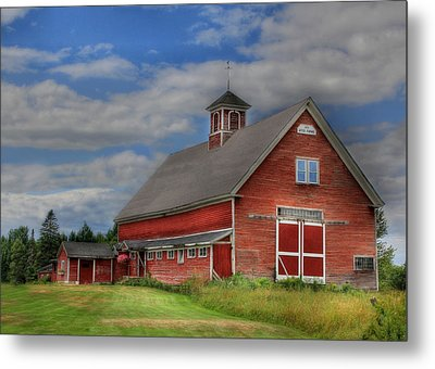Atco Farms - 1920 Metal Print by Lori Deiter