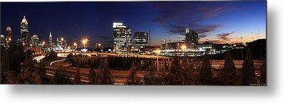 Atlanta Downtown Skyline Metal Print by Alberto Filho