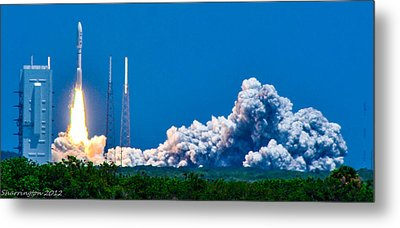 Atlas Launch Metal Print by Shannon Harrington
