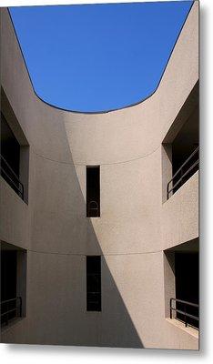 Atrium 3 Palm Springs Metal Print by William Dey